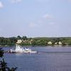 Boat on the Volga.