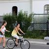 Bike rider & roller skater.