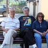 Oleg, Rustem & Susan before we head out of town.