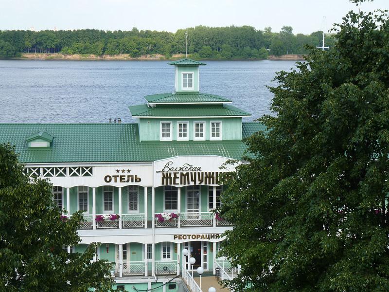 "Boat hotel ""Pearl"" on the Volga."