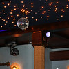Restaurant interior - who said disco balls are a thing of the past?