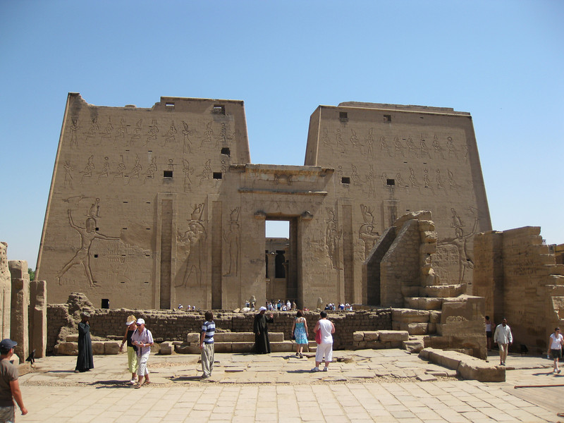 The second temple we visited was the Temple Of Horus at Edfu.