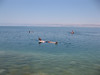 Floating in the Dead Sea - forgot my newspaper