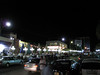 The night life close to the Manar hotel in Amman
