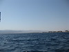 To the left is Eilat, Israel. To the right is Aqaba. To the far left is Tabah, Egypt. To the right about 20km down is Saudi Arabia.