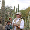 Volunteer guide at the Desert Botanical Garden. (Phoenix)
