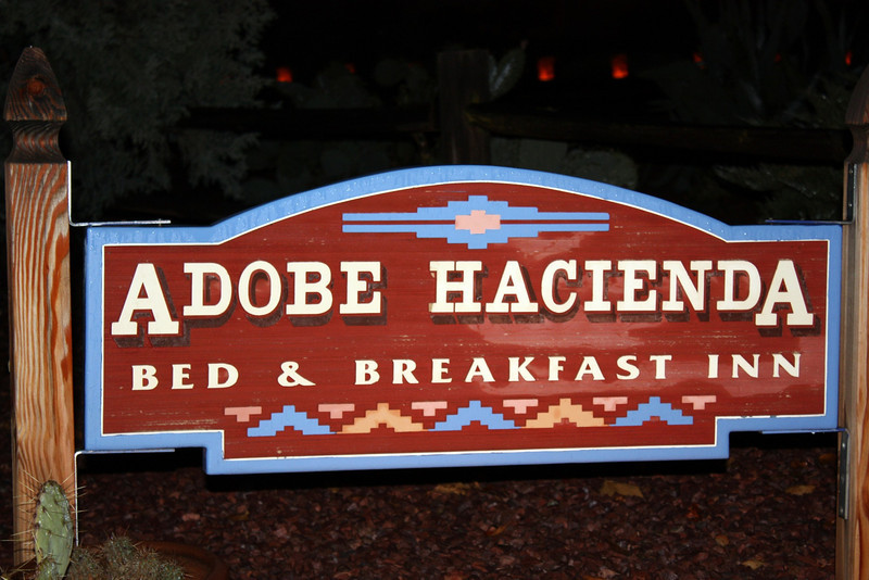 Adobe Hacienda, our home in Sedona. (Oak Creek Village, Sedona, Arizona)