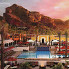 Postcard of the Intercontinental Montelucia Resort & Spa in Paradise Valley, Arizona.