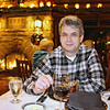 Enjoying onion soup near the fireplace in El Tovar's dining room. Booked in advance via e-mail!