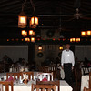 El Tovar's rustically elegant dining room.
