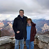 Susan & Rustem atop Look Out Point. (Grand Canyon)
