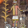 Hopi religious ceremony representation inside the Desert View Watchtower created by a Hopi artist.