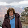 Susan at the Grand Canyon. My 4th visit is no less transcendent than my 1st.