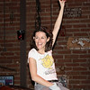 """I did it!"" She successfully rode the bull in a Scottsdale restaurant."
