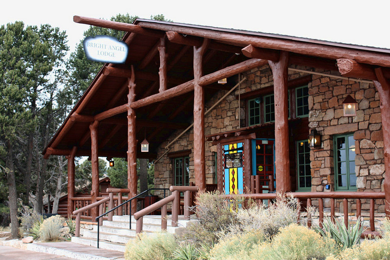 Bright Angel Lodge at Grand Canyon was built in 1935.