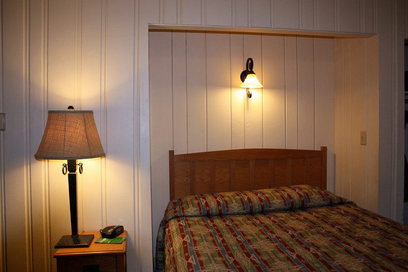 Our Bright Angel Cabin - built in the 1930s.
