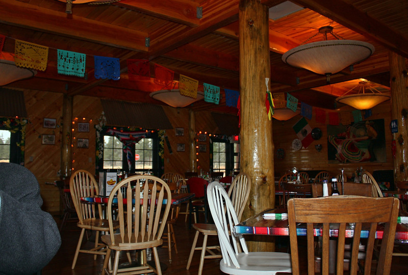 Lunch at a Mexican restaurant in Tusayan, Arizona.