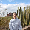 Rustem at the Desert Botanical Garden. (Phoenix)