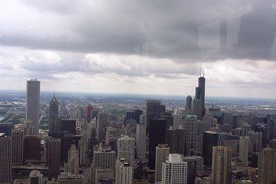 View from the Hancock Bldg
