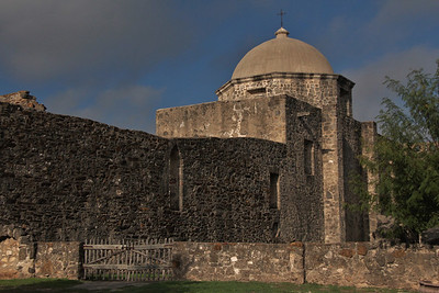 San José, as it became known, was the largest of the missions in the area. At its height, the community contained about 350 Indian neophytes, sustained by extensive fields and herds of livestock.