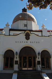 Bath House Row, Hot Springs, AR