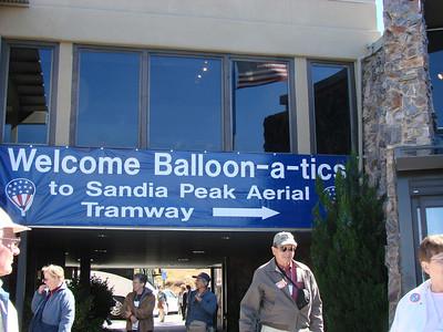 Sandia Peak, Balloon Fiesta 2006