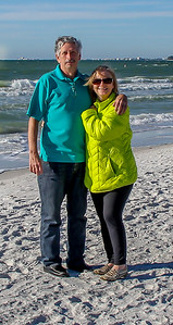 Bob & Ruth, Clearwater Beach, January 2015