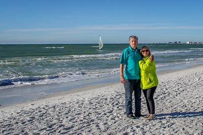 Bob & Ruth, Clearwater Beach January 2015