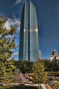 The Devon Energy Center in Oklahoma City, OK