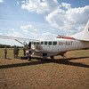 Our ride to Serengeti, arrived at Kogatende airstrip (which is really just a dirt strip, no buildings at all).