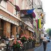 Vilnius, Lithuania café.