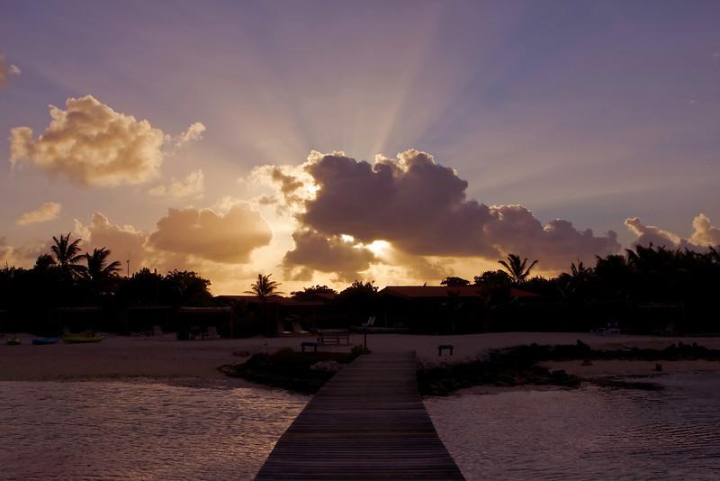 Sunset at Sorobon