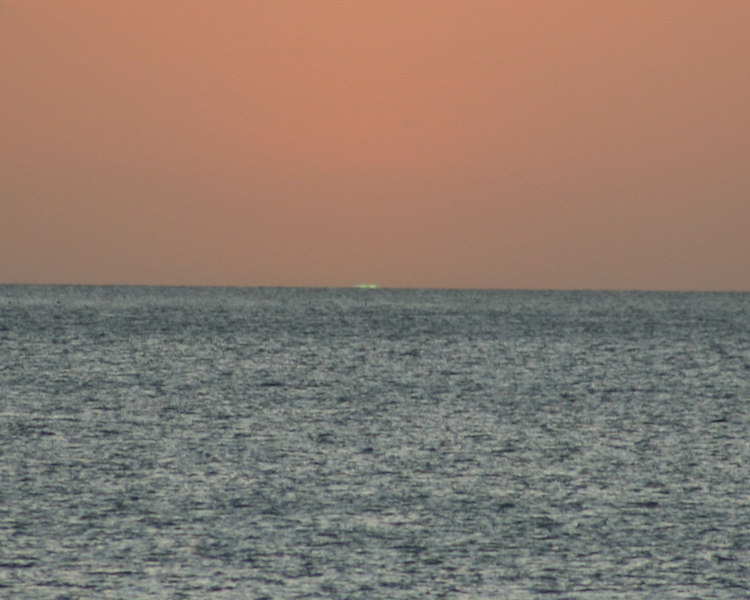 POSSIBLE Green Flash ??