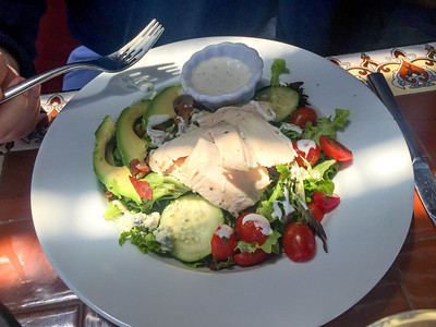 Cobb Salad, Cliffside Restaurant, St. George, Utah