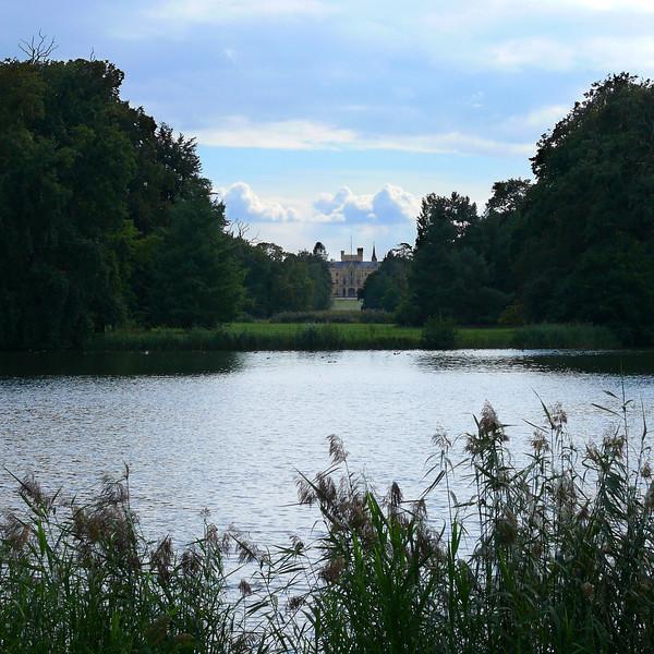 8-31-2007 Into Moravia - Castel Lednice across the pond