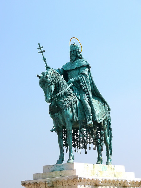 8-27-07 Budapest - King on a Horse