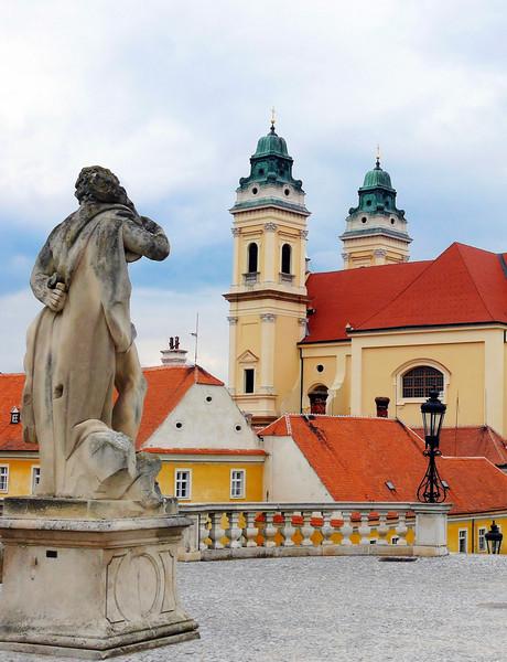 8-31-2007 Into Moravia - Lichtenstein Statue & Chapel