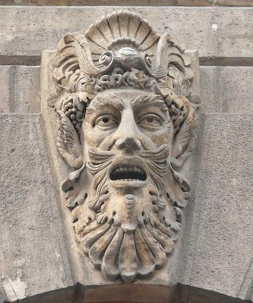 8-26-07 Budapest Stone Face