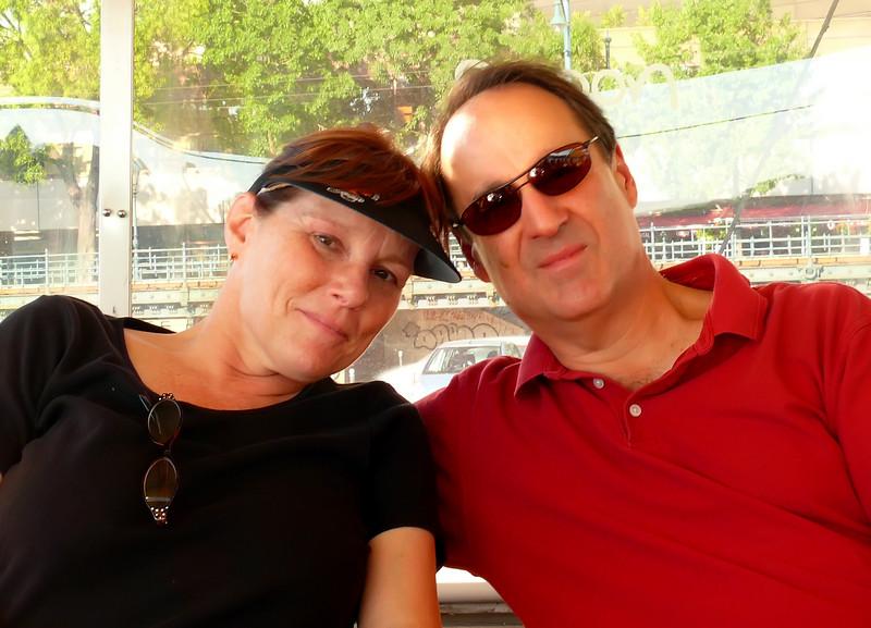 8-26-2007 Budapest - Jeri and Steve
