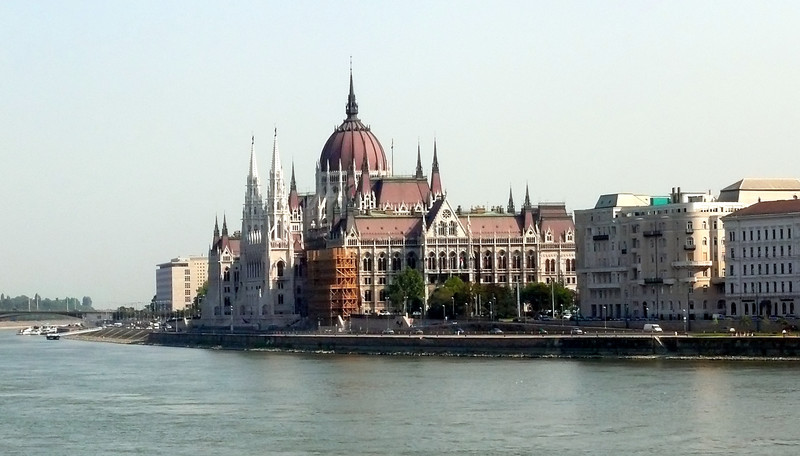 8-27-07 Budapest - Parliament from the Chain Bridge