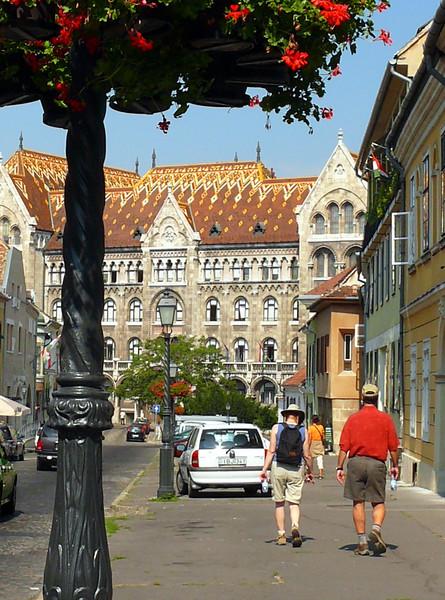 8-27-07 Budapest - Kara and Steve