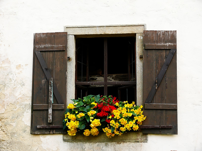9-2-2007 Castle Rosjyn - Windowbox (2)