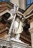 8-26-2007 Budapest - Statue on St Stephens