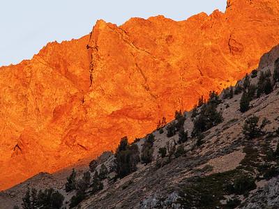 Sunrise on Paiute Crags