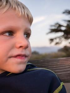 Brandon at Sunset