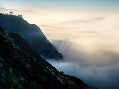 Fog at Big Sur