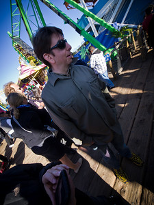 I made Sean look a little odd with my wide angle lens. I'm sure he appreciates that.