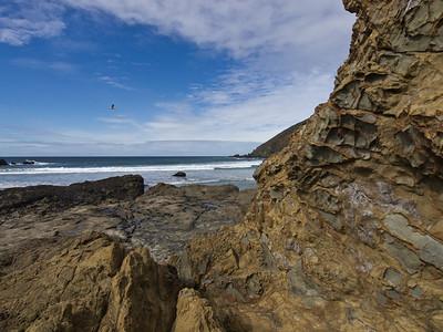 Last shot of Pfeiffer Beach.