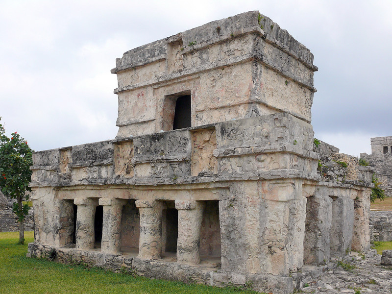 Tulum ruins. Just pictures - I have no real info on what these buildings were.