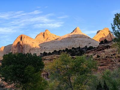 Sunrise on Navajo Dome